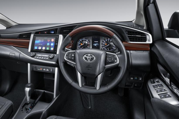 Interior Toyota Grand New Kijang Innova