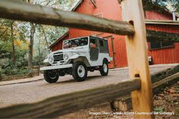 1961 Toyota FJ25 Land Cruiser, Mobil Favorit Off-Roader